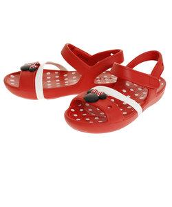 クロックス(crocs)サンダル キッズ ジュニア リナ ミニー Red 204999-8C1-2019
