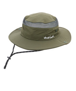 Whole Earth帽子 ハット トレッキング 登山 ROLL UP バイザーハット WE2HFB33 KHK