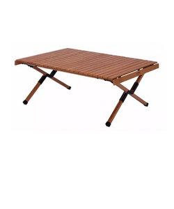ロールテーブル キャンプ アペロ ウッドテーブルロータイプ APR-H400 BR