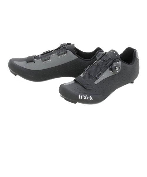 フィジーク(fi'zi:k)サイクリングシューズ R5B UOMO BOA 306890006 BK/GY 425