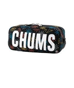 チャムス(CHUMS)ボート ロゴ ポーチ スウェット ペンケース CH60-2712-Z197