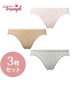 【WEB限定3枚セット】SO SIMPLE7110 レギュラーショーツ