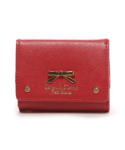 ★シンプルリボンプレート(ミニ財布)
