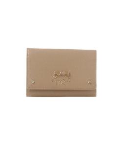 ★リボンプレート 口金財布 カラーリングリボンバージョン