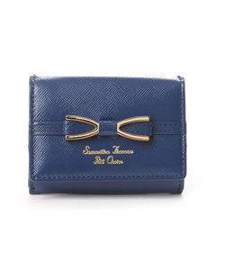ゴールドプレートリボンシリーズ ミニ折財布