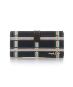 手書き風チェックシリーズ 薄型財布