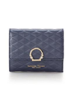ダイヤキルティング 折財布