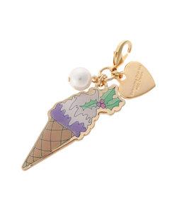 【「Artist Lara」Collection】Christmas Item ファスナーチャーム(アイスクリーム)