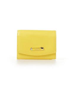 ハートプレート折財布