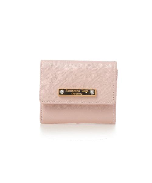 【SamanthaVegaCelebrity】ハートストーン財布折財布