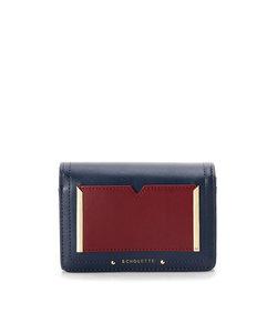 ★バイカラーミニ財布