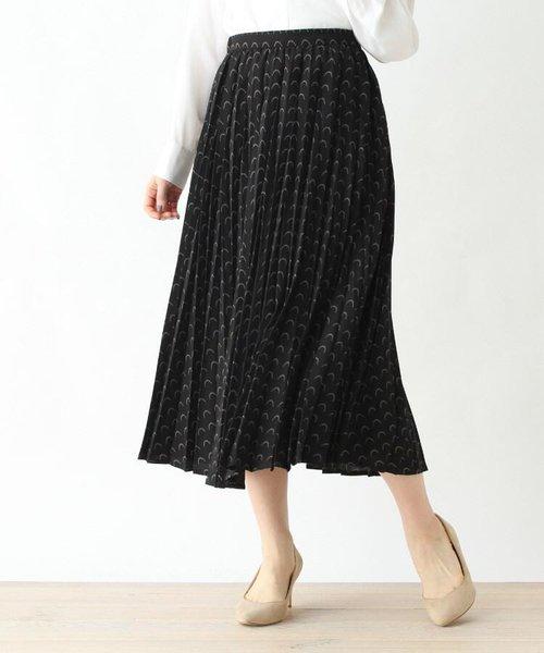 バックゴムプリーツフレアスカート