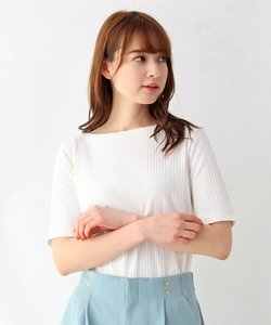 【My style is...掲載】【洗える・34(SS)、42(LL)WEB限定サイズ】SUPIMA COTTON リブカットソー