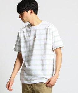 new balance ストライプTシャツ