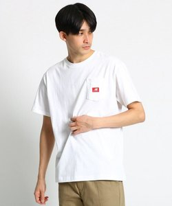 new balance ポケットTシャツ