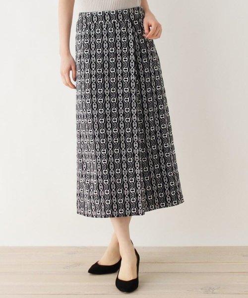 ピケチェーンエンブロ ラップナロースカート【WEB限定サイズ】