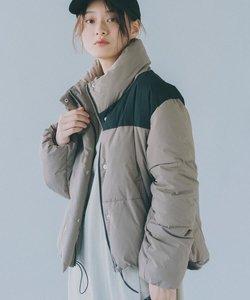 【サーモライト】冬に嬉しい防風・保温機能付きショート丈中綿ブルゾン