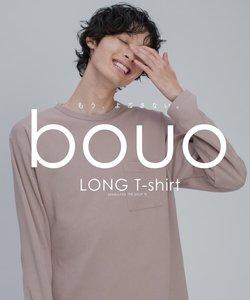 bouo 汚さないロングTシャツ/ゆるシルエット