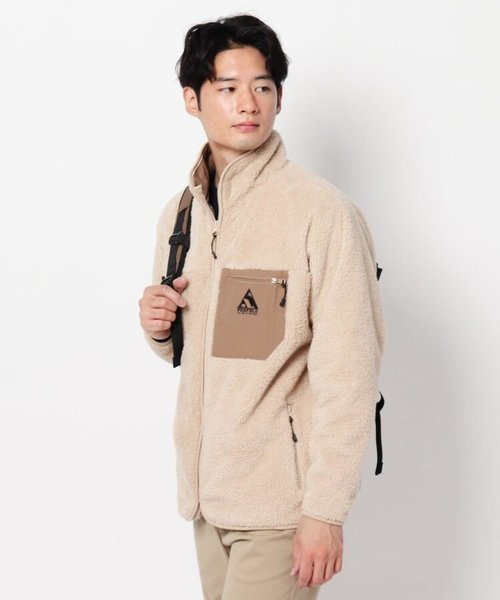 【GO OUT 2021年1月号掲載】【penfield】ペンフィールド別注フリースブルゾン