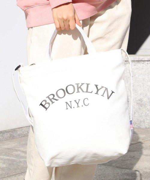 ブルックリンスーベニアトートバッグ/ユニセックスでおすすめ!!