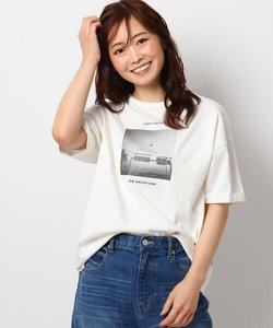 【HIS】【2WAY】フォトTシャツ