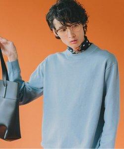 【洗濯機OK】ヘビロテできる着やすいエコニット/モックネックニット/選べる8色展開