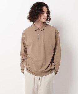 鹿の子ロングスリーブポロシャツ