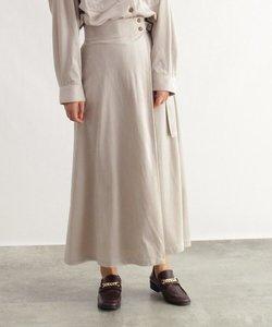 [洗える]春コーデュロイマキシスカート