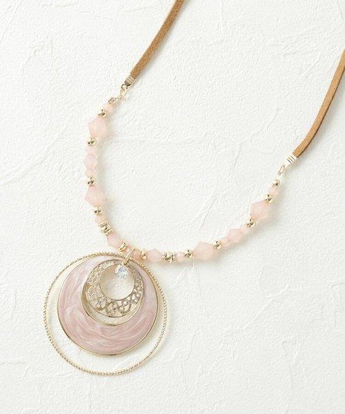 トリプル月の輪ネックレス