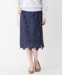ミドルゲージニットスカート