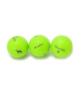 カラーゴルフボール3セット