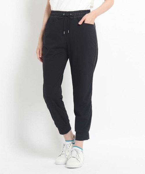 ◆サイドライン サステナブルジャージ素材パンツ