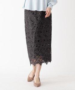 スプリングレースタイトスカート