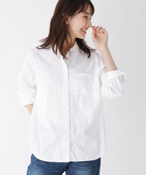 【ハンドウォッシュ】コットン(綿)ツイルシャツ
