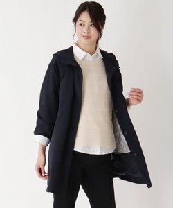 中綿ライナー付きスプリングコート