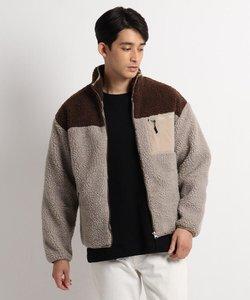SK ボア スタンドジャケット ブルゾン
