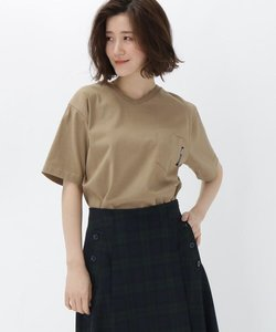 【WEB限定】半袖 ヘビーウェイトポケットTシャツ Vネック