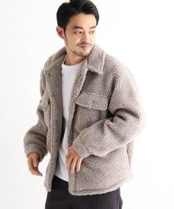 SK ボア CPOシャツジャケット