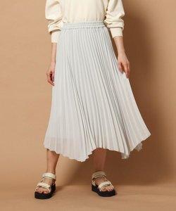 【WEB限定】イレギュラーヘムプリーツスカート