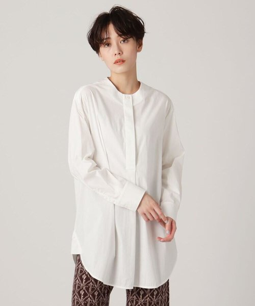 【STYLE YOURSELF】Aラインロングシャツ