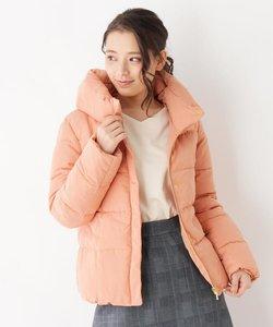 ボリューム衿中綿ジャケット