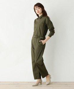 style zampa for the holidays ベルト付きジャンプスーツ