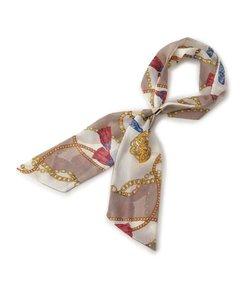 リング付き楊柳スカーフ