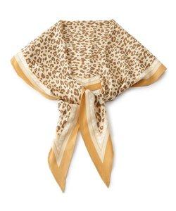 変形アニマル柄スカーフ