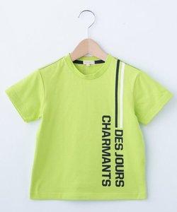 【90‐150cm】ロゴラインTシャツ