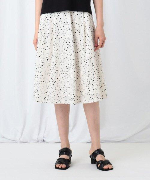 【WEB限定】「S」デシンプリントスカート