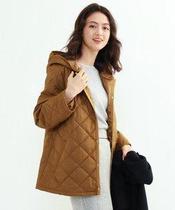 [L]【Lサイズ別注】フーデットキルトコート