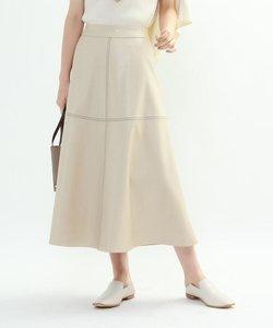 エコレザーAラインスカート