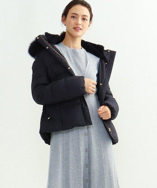 [L]エコファーダウンジャケット