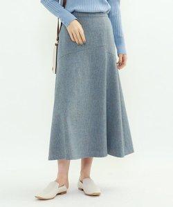 メランジツイードマーメイドスカート